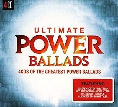 Various Artists - Ultimate Power Ballads / Various [New CD] UK - Import
