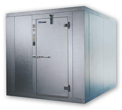 Master-bilt Walk In Freezer 8x8 Indoor 76ft H W Floor Refrigeration