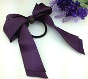 Purple Hair Scrunchie