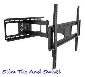 "37"" to 60"" Slim Tilt Swivel TV Wall Mount"
