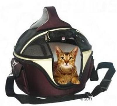 Transporttasche Tragetasche Hartschalentasche ~ Sandy ~ für Hunde & Katzen