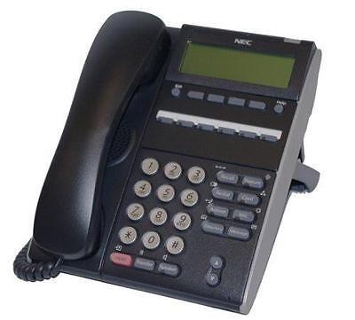 Fully Refurbished Nec Dt310 Dtl-6de-1 6-button Display Digital Phone Black