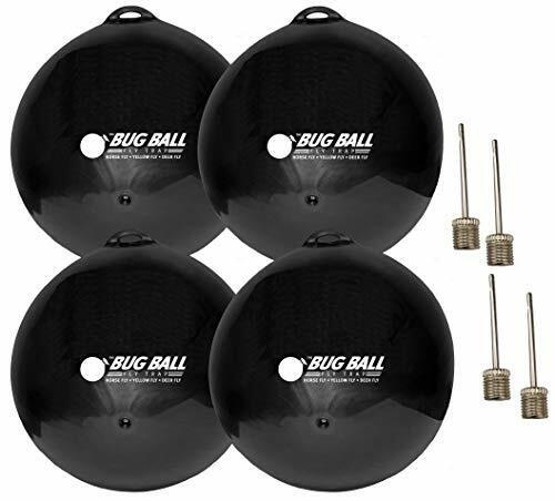 Bug Ball Replacement Ball, 4 Pack- Odorless Eco-Friendly Insect Killer