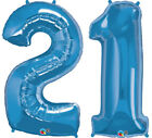 21st Birthday Party Foil Balloons