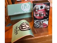 Walrus Audio Jupiter V2 Fuzz Guitar Pedal - excellent condition with box