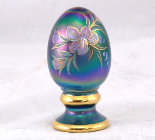 Fenton Hand Painted Egg Ebay