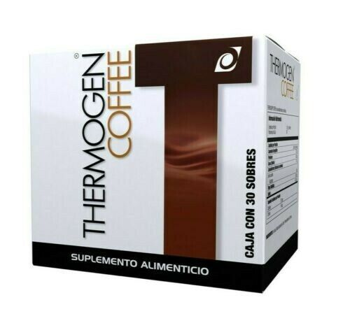 OMNILIFE THERMOGEN COFFE BOX WITH 30 SACHETS LOSS WEIGHT ••FREE SHIPPING••