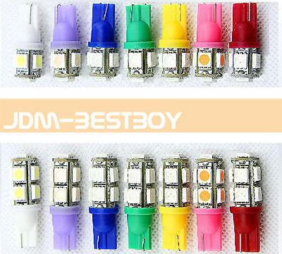 T10 168 194 W5W SMD 5050 LED Car Auto Truck Wedge Van Bulb Side Light Lamp 12V