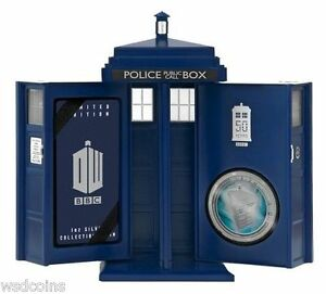 2013-Doctor-Dr-Who-50th-Anniversary-Coin-with-Tardis-Packaging-LIMITED