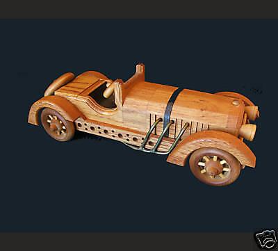 LTD EDITION Wooden Collectible American Keystone MERCEDES CONVERTIBLE  NIB