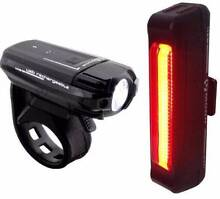 Moon Meteor 250 Lumens / Comet Bicycle Light Set Front Rear light East Perth Perth City Preview