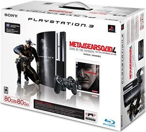 PlayStation 3 Metal Gear Solid 4 80GB Console