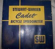 Stewart Warner Bicycle Speedometer