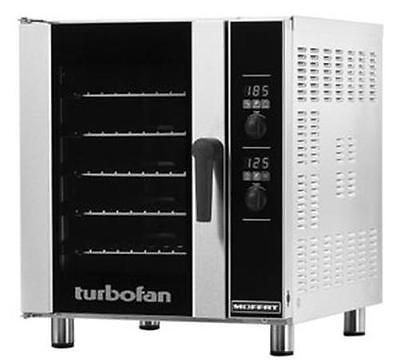 Moffat E33d5 Turbofan Electric Digital Convection Oven 5 Pan Half Size