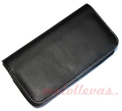 Usado, Funda Universal para movil smartphone 5,5'' pulgadas clip cinturon cuero segunda mano  Fuenlabrada