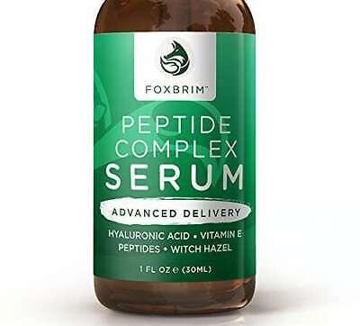 FOXBRIM Peptide Complex Serum - BEST Anti Aging Serum - Anti Wrinkle 1 FL