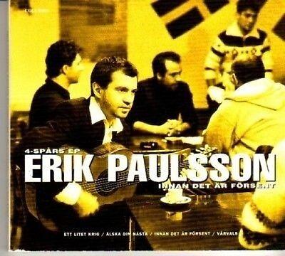 (BH201) Erik Paulssson, Innan det ar Forsent - 1996 CD