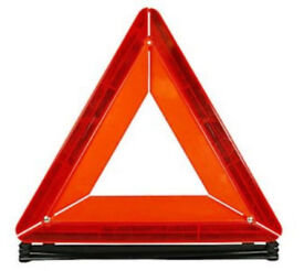 Motorists warning triangle - folds flat