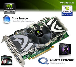 NEW Mac Pro nVidia Quadro FX4500 512MB PCIe Video Card