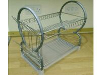 Dish rack drainer side of sink, brand new! Was 16.99!