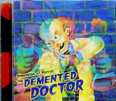 Dimension of Horror: THE DEMENTED DOCTOR: CLASSIC 1998 K-TEL HALLOWEEN SOUNDS CD ()
