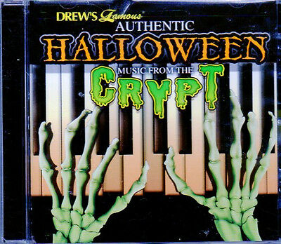 Drew's Famous AUTHENTIC HALLOWEEN MUSIC FROM CRYPT SCARY MOVIE SOUNDTRACK - Halloween Movie Theme Music