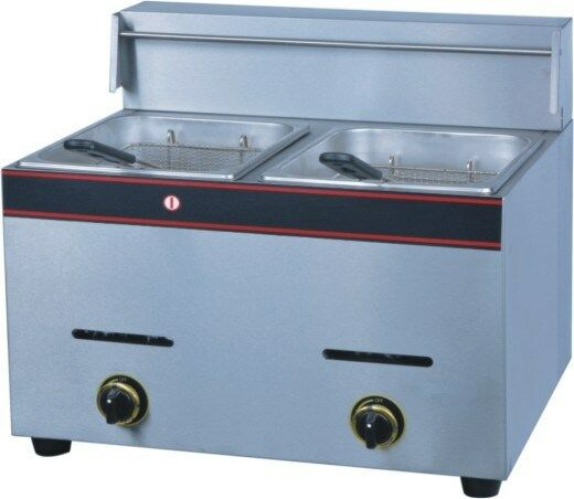 Double Pan (Table Model) Gas Fryer
