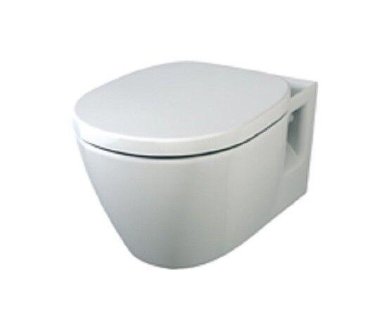 WC-Sitz für Ideal Standard Connect Softclose mit Absenkautomatik Abnehmbar weiss