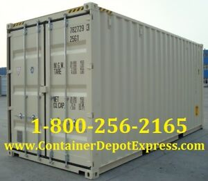 New 20ft Shipping Container for Rent!