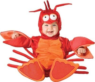 Baby Toddler cosplay Costume Fancy Dress kids Lobster Costume Outfit - Baby Lobster Outfit