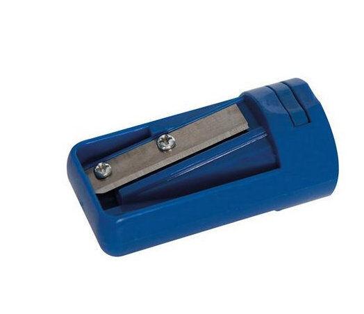 Anspitzer für Zimmermannsbleistifte Spitzer Bleistift 54 x 27 mm Blau Kunststoff