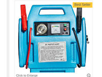 Top Tech 3-in-1 12V Booster Pack with Air Compressor Jump Starter in Blue - £40 – RRP £62.99