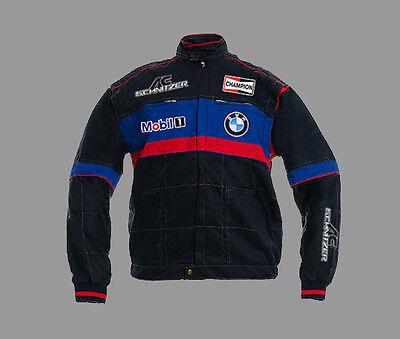 Neu Herren BMW AC SCHNITZER Fan Team Arbeitskleidung Jacke