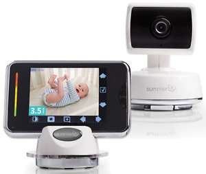 "Summer Infant Baby Touch 3.5"" WiFi Video Monitor & Internet View"