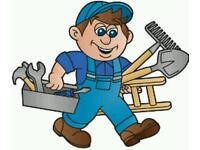 Handyman man with van electrician plumber moving pat testing