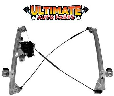 Front Power Window Regulator Drivers Left w/Motor for 07-14 Cadillac Escalade