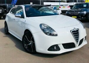 2011 Alfa Romeo Giulietta Series 0 QV Hatchback 5dr Man 6sp 1.7T [Jan] White Manual Hatchback Liverpool Liverpool Area Preview