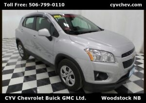 2014 Chevrolet Trax LS FWD Manual with Fog Lights & AC
