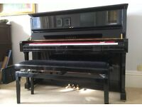 Yamaha U1 black gloss upright piano