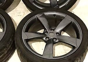 "18"" Rotor Wheels as new Dunlop Tyres 245/45/18 Geelong Geelong City Preview"