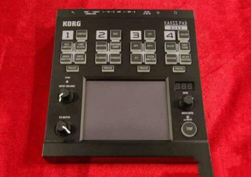 Korg Kaoss Pad QUAD KP-QUAD Dynamic Effects Processor with AC Cable Used