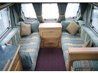 Caravan full cushion set and curtains