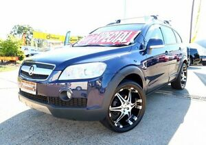 2007 Holden Captiva CG MY08 LX AWD Blue 5 Speed Sports Automatic Wagon Woodridge Logan Area Preview