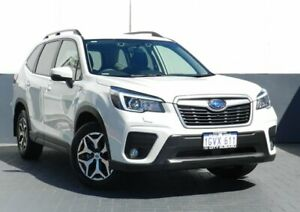 2019 Subaru Forester S5 MY19 2.5i-L CVT AWD White 7 Speed Constant Variable Wagon Maddington Gosnells Area Preview