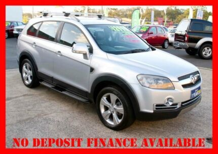 2008 Holden Captiva CG MY08 LX 60TH Anniversary (4x4) Silver 5 Speed Automatic Wagon Underwood Logan Area Preview