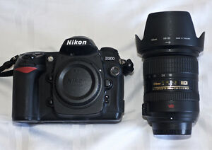 Nikon D200 with Nikon 18-200 Lens