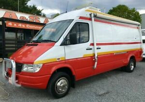 c604ef7e70 1999 Mercedes-Benz Sprinter 412D LWB Red 5 Speed Manual Van