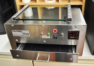 PhotoPolymer 200 81/2' x 11' Rubber Stamp Exposure Unit YORKTON
