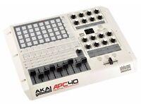 Akai APC 40 Ltd Edition White Ableton USB MIDI controller
