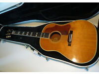 Very Rare Vintage 1957 GIBSON COUNTRY WESTERN/J50 Acoustic Guitar